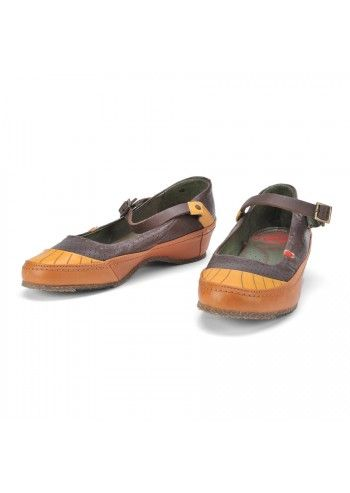 Cubanas, Comfy Mary Jane Leather Shoes