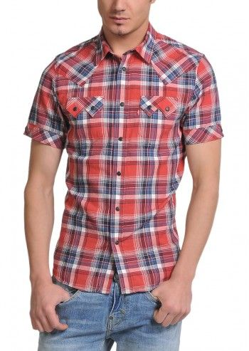 Levi's®, Man Grant Multi Checkered Shirt