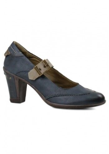 Cubanas, Rueda Dark Blue Shoes