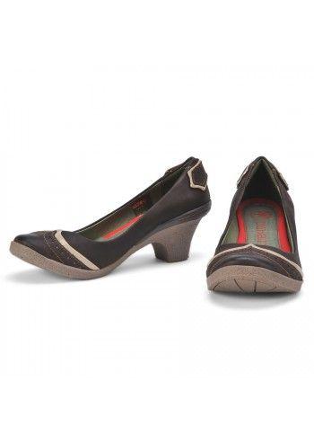Cubanas, Leather Chocolate Comfy Shoes