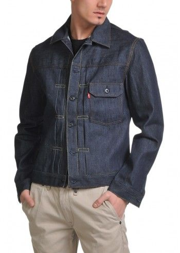 Levi's®, Man Cone Navy Blue Denim Jacket
