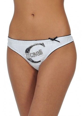 Just Cavalli, Woman Marissa White Thong