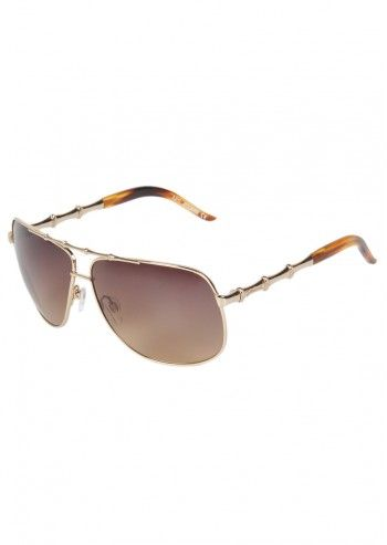 Just Cavalli, Unisex Lima Brown&Golden Sunglasses