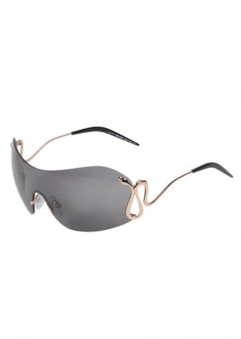 Roberto Cavalli, Woman Astoria Dark Gray Sunglasses
