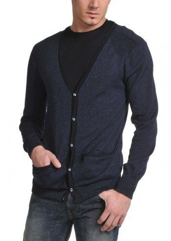 Levi's®, Man Mele Ultramarine Blue Cardigan