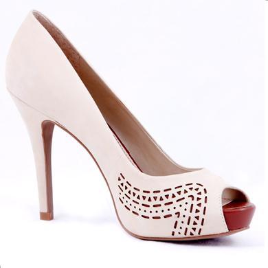 Pantofi Epica gri din piele intoarsa