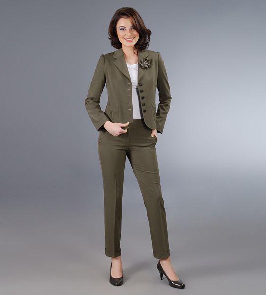 Costum de dama cu pantalon