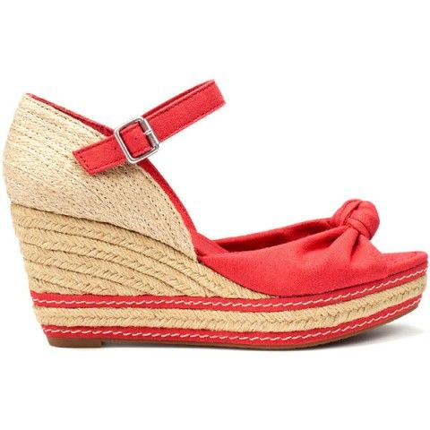 Sandale Zara cu platforma si talpa de rafie
