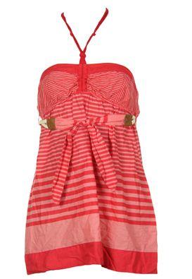 Bluza femei Bershka rosie in dungi