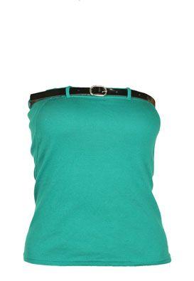 Bluza femei Bershka verde gen corset