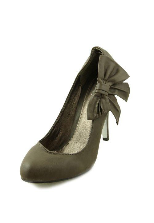 Pantofi Blanco cu toc inalt cu funda