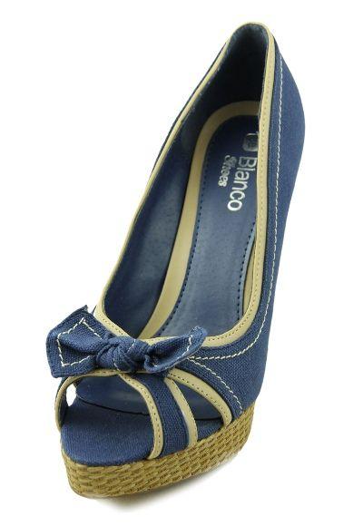 Sandale Blanco albastre