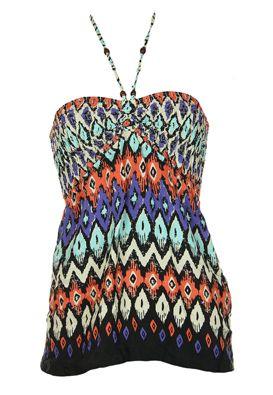 Bluza femei Bershka multicolora