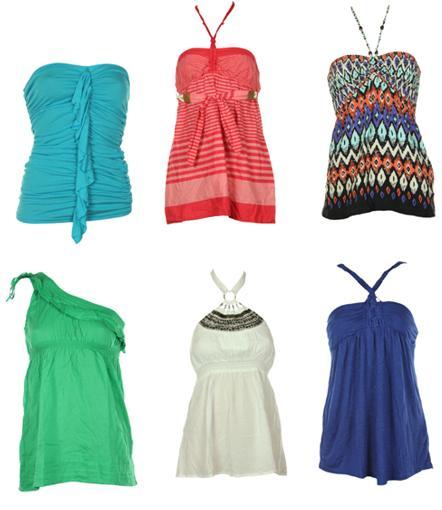 Bluze Bershka de vara pentru femei