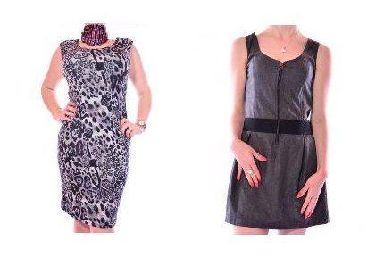 Rochie Zara cu imprimeu animal print-Rochie Zara cu reducere