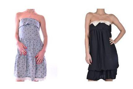 Rochii Zara casual de vara cu reducere-Rochii Zara bustiera de vara cu reducere