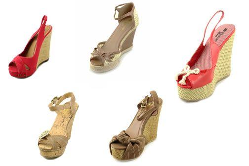 Sandale cu platforma Blanco ieftine