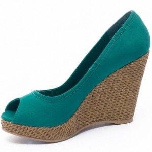 Pantofi cu platforma de vara Blanco decupati la varf
