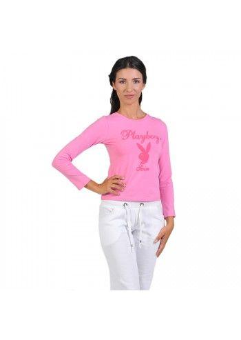 Bluza roz Playboy