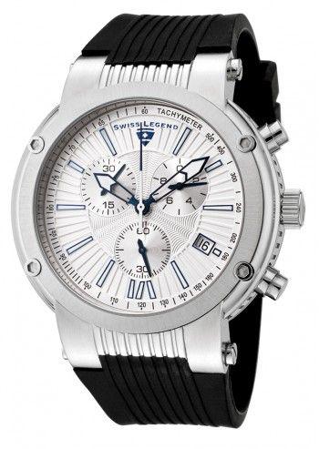 Swiss Legend, Ceas barbatesc negru cronograf Legato Cirque
