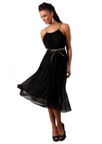 Chic Dressing, Rochie neagra Claudia