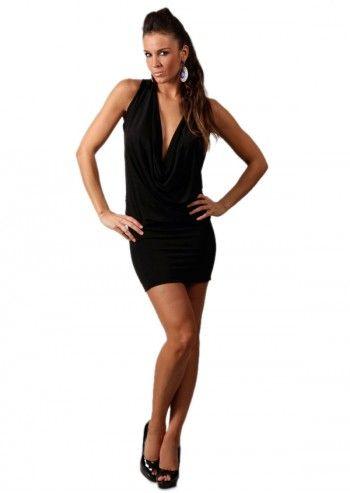 Chic Dressing, Rochie neagra Jennifer
