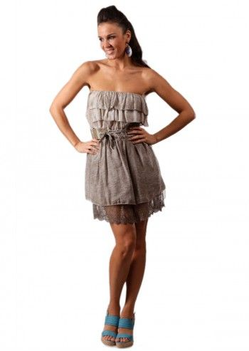 Chic Dressing, Rochie bej Kelya