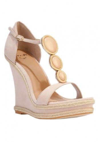 Sandale cu platforma inalta