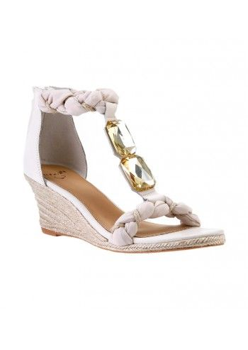 Sandale wedge Ivory Bridge