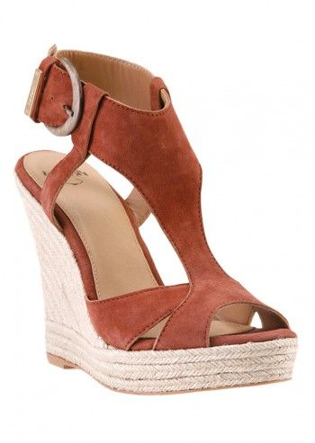 Sandale wedge Brown Panda