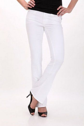 Jeans 7 for All Mankind, A Pocket ARW White