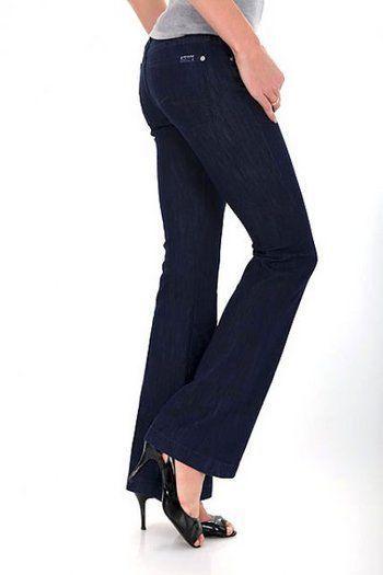 Jeans dama albastru inchis