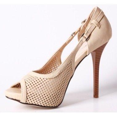 Sandale cu platforma ascunsa