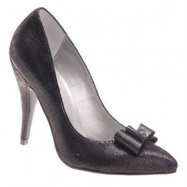Pantofi de dama glamour de culoare neagra