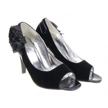 Pantofi ocazie piele intoarsa