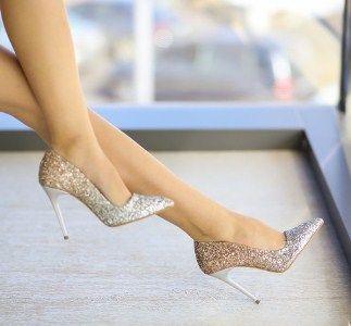 pantofi-muz-aurii