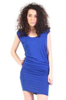 rochie Mango de un albastru cobalt puternic