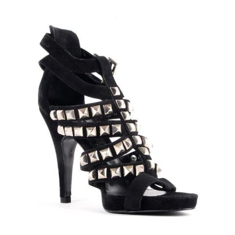 Sandale cu toc inalt Zara pentru seara, de ocazie