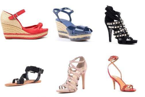 Sandale Zara cu platforma, toc inalt sau talpa joasa