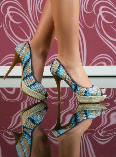 Pantofi cu platforma casual