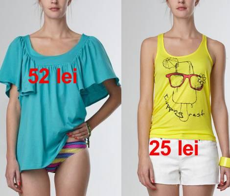 Bluze si tricouri de plaja