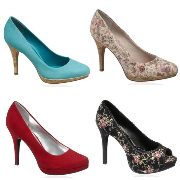 Pantofi cu platforme Deichmann de zi