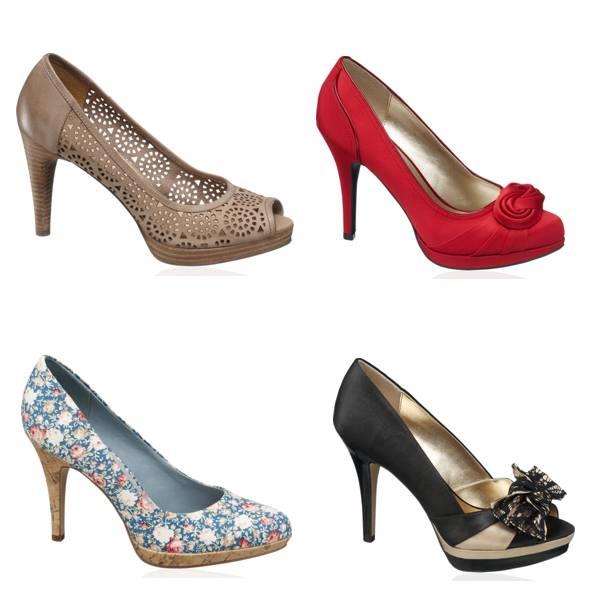 Pantofi cu platforme Deichmann ieftini