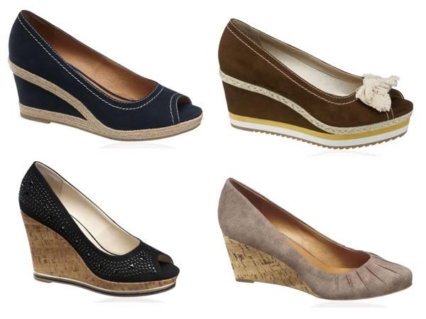 Pantofi cu platforme ortopedice Deichmann