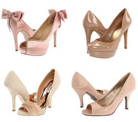 Pantofi de ocazie culoarea nude