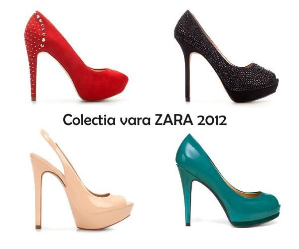 Pantofi platforma Zara