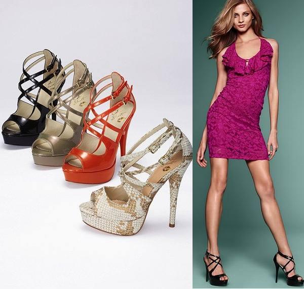 Pantofi platforma cu barete Victoria's Secret