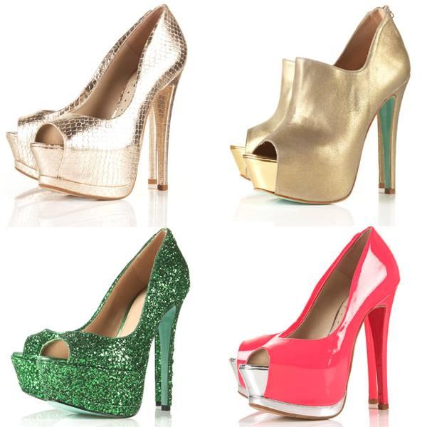 Pantofi platforma eleganti Topshop