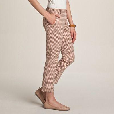 Pantaloni trei sferturi de vara pentru femei