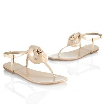 Sandale slapi cu talpa joasa